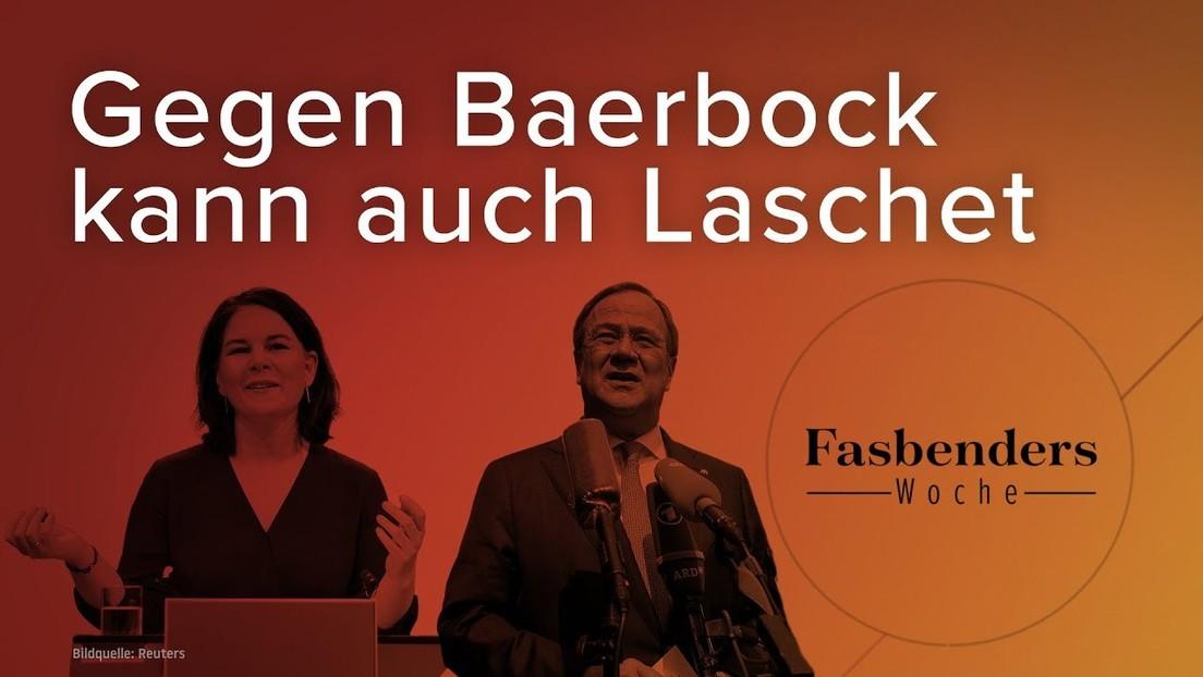 Fasbenders Woche: Gegen Baerbock kann auch Laschet