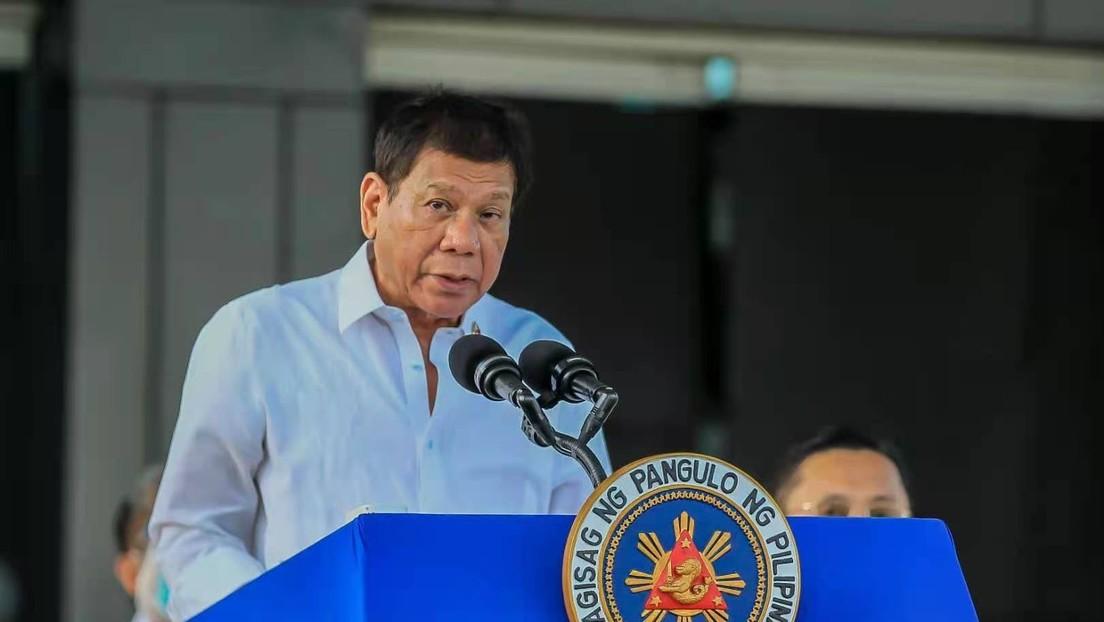 Philippinen: Duterte würde Schiffe gegen China schicken, um Ressourcen zu sichern