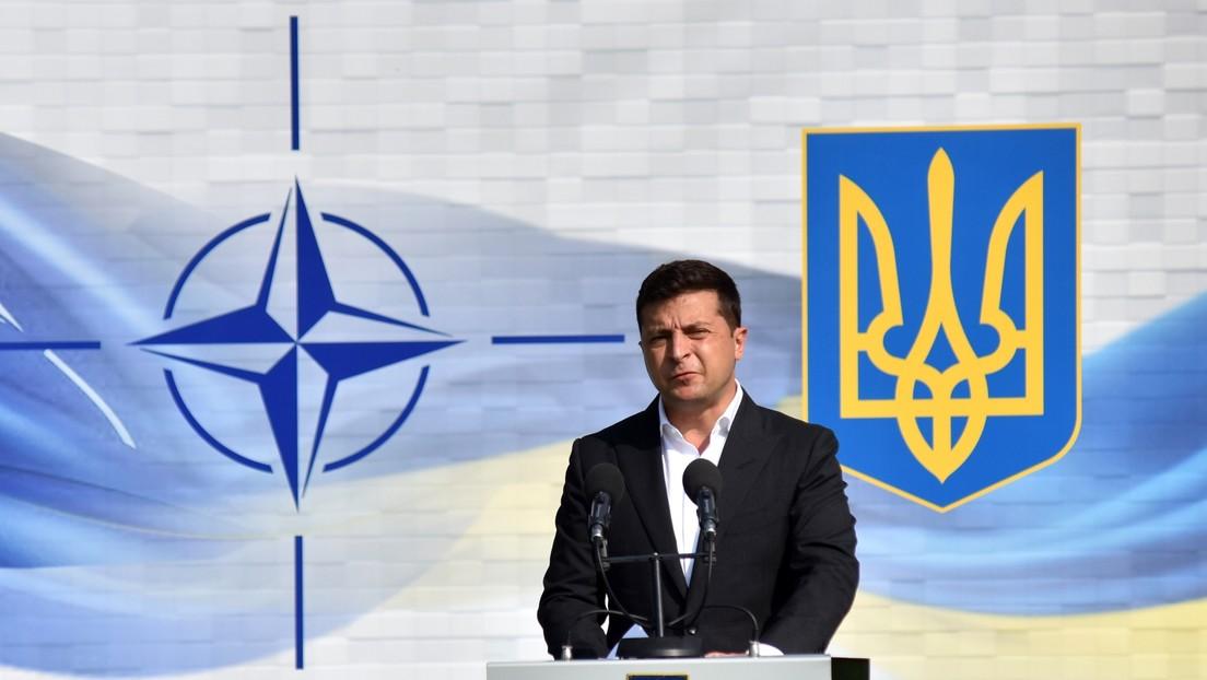 Russisches Außenministerium: NATO und Kiew sollen Ostukraine nicht weiter destabilisieren