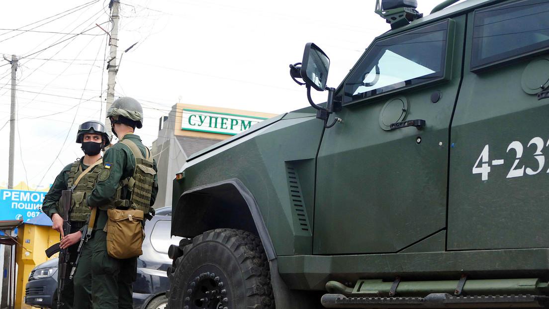 Ukrainischer Sicherheitsdienst nimmt 60 angeblich prorussische Demonstranten fest