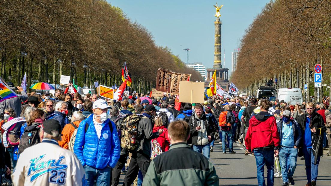 Berlin: 150 Festnahmen nach aufgelöster Corona-Demonstration