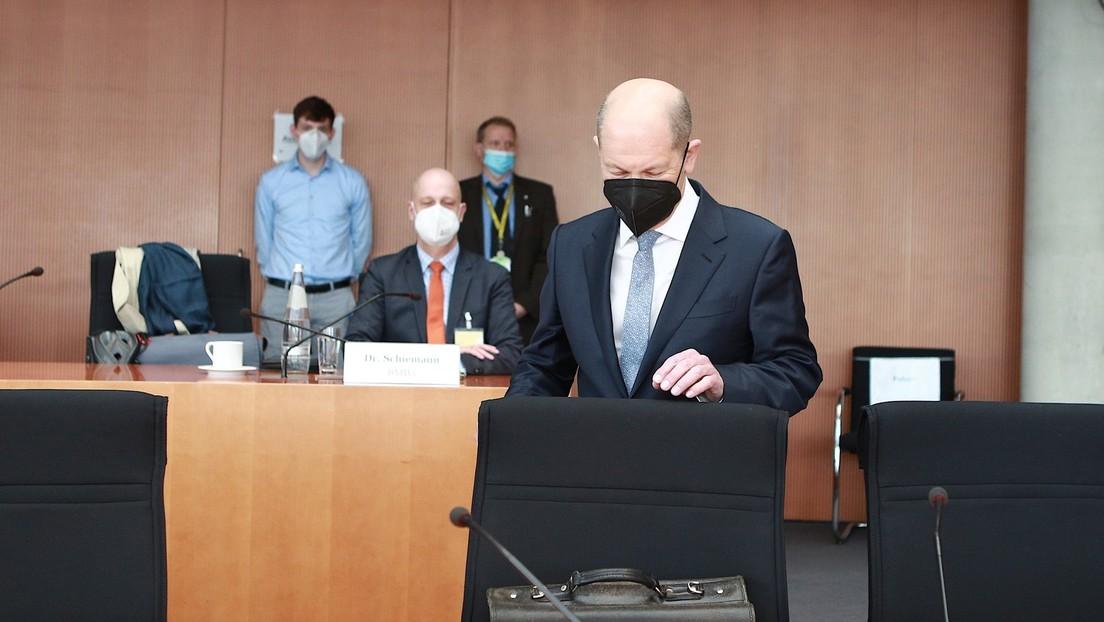 """Olaf Scholz im Wirecard-Ausschuss: """"BaFin war für hochkriminelle Tätigkeiten nicht ausgestattet"""""""