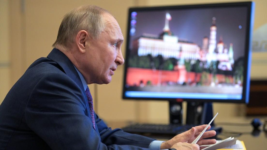 Wladimir Putin: Bereit zur Besprechung bilateraler Beziehungen mit Selenskij