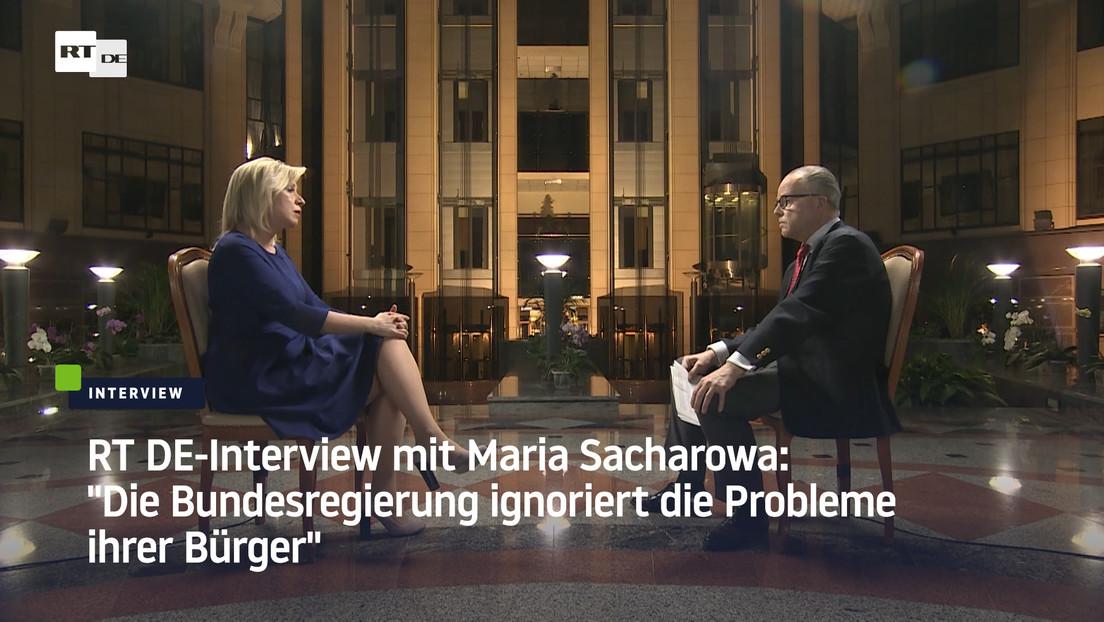 """Exklusiv-Interview mit Außenamtssprecherin Maria Sacharowa: """"Der Westen lebt in einer Illusion"""""""