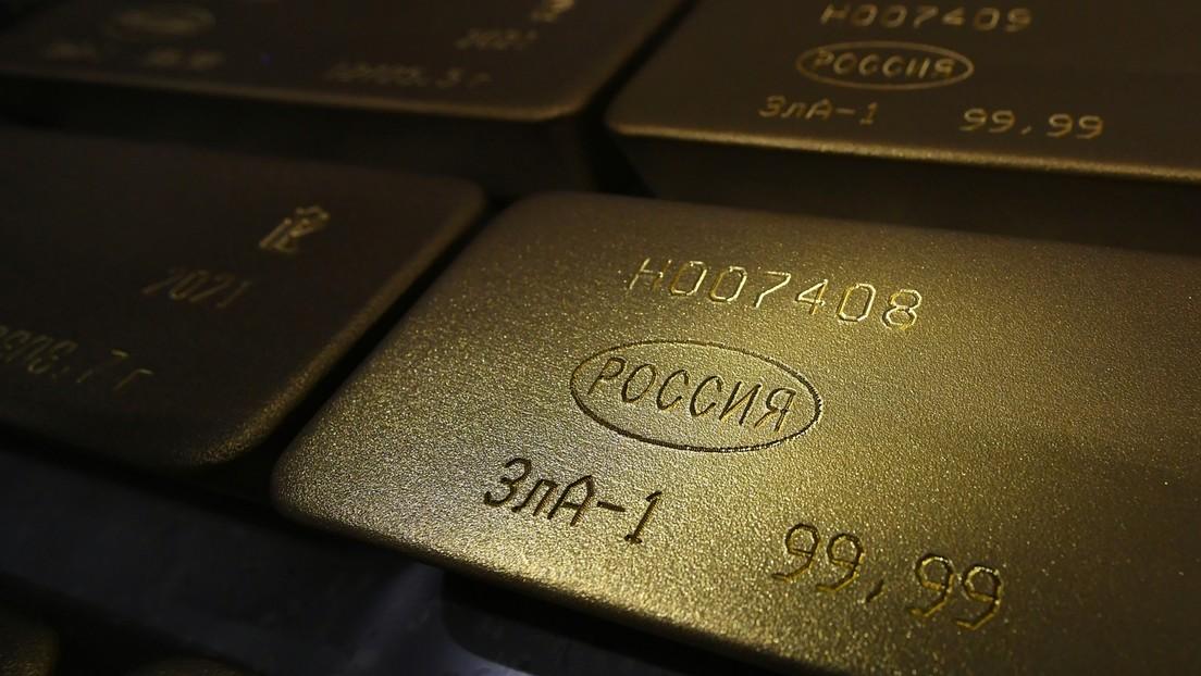 Russlands Gold- und Devisenreserven wachsen in nur einer Woche um über drei Milliarden US-Dollar