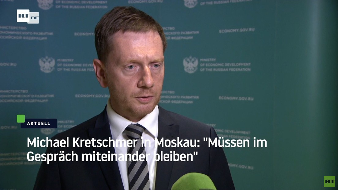 Michael Kretschmer: Wenn Sputnik eingesetzt wird, ist das ein Zeichen gegenseitigen Vertrauens