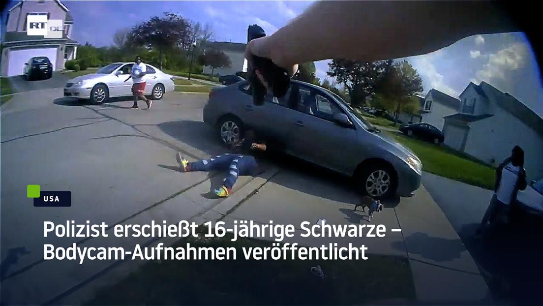 Polizist erschießt 16-jährige Schwarze – Bodycam-Aufnahmen veröffentlicht