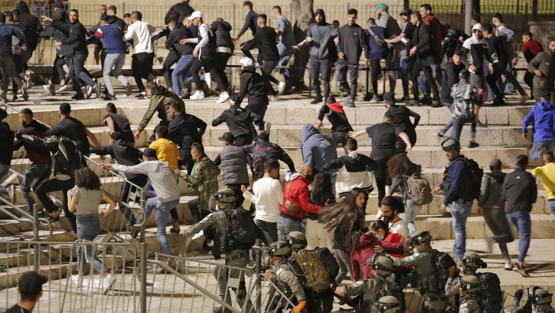 Jerusalem: Heftige Zusammenstöße zwischen Juden und Palästinensern