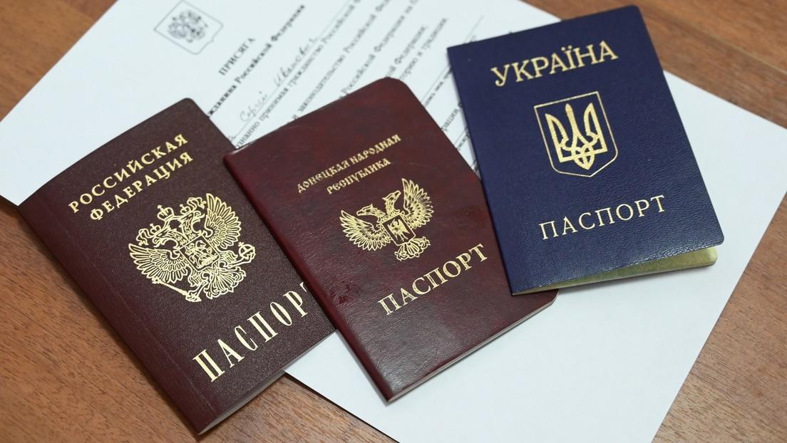 Zahl der Donbass-Bewohner mit russischem Pass könnte sich bis Ende 2021 auf eine Million verdoppeln