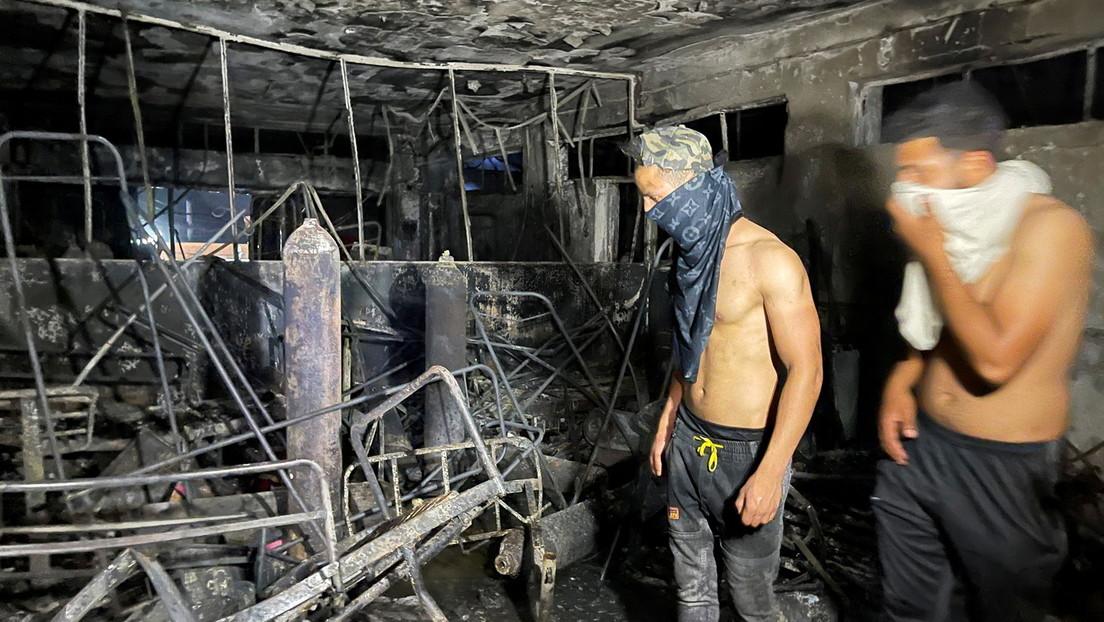 Brand in Corona-Station in Bagdad: Zahl der Todesopfer steigt auf mindestens 82