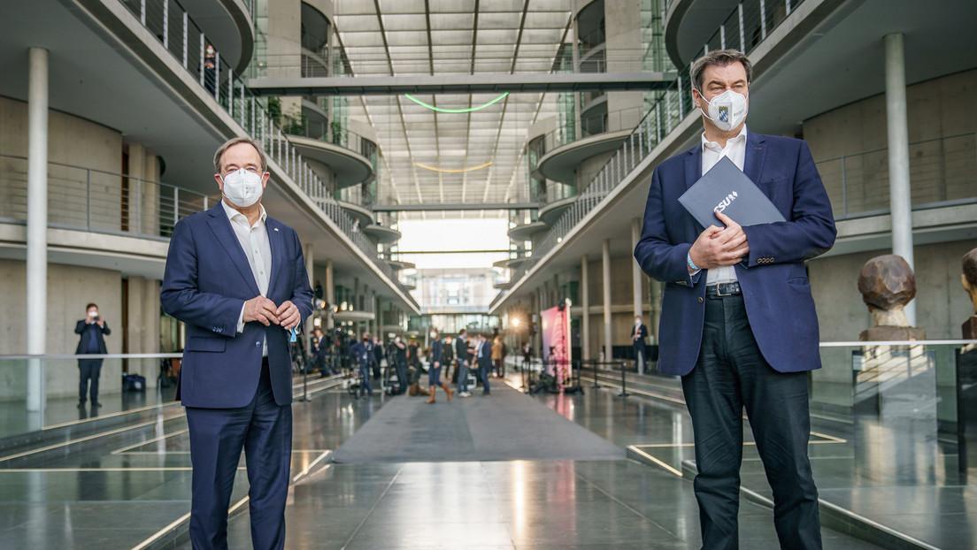 Keine Ruhe in der Union: Kabbelei zwischen Laschet und Söder  geht weiter