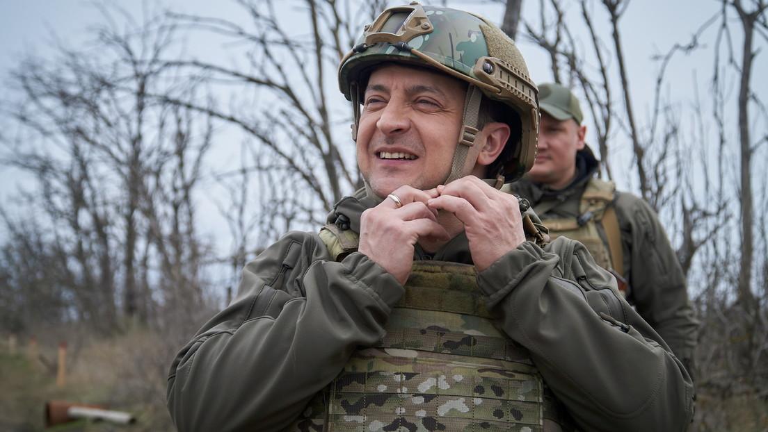 Selenskij will Minsker Abkommen umschreiben – mit Hilfe der USA oder Großbritanniens
