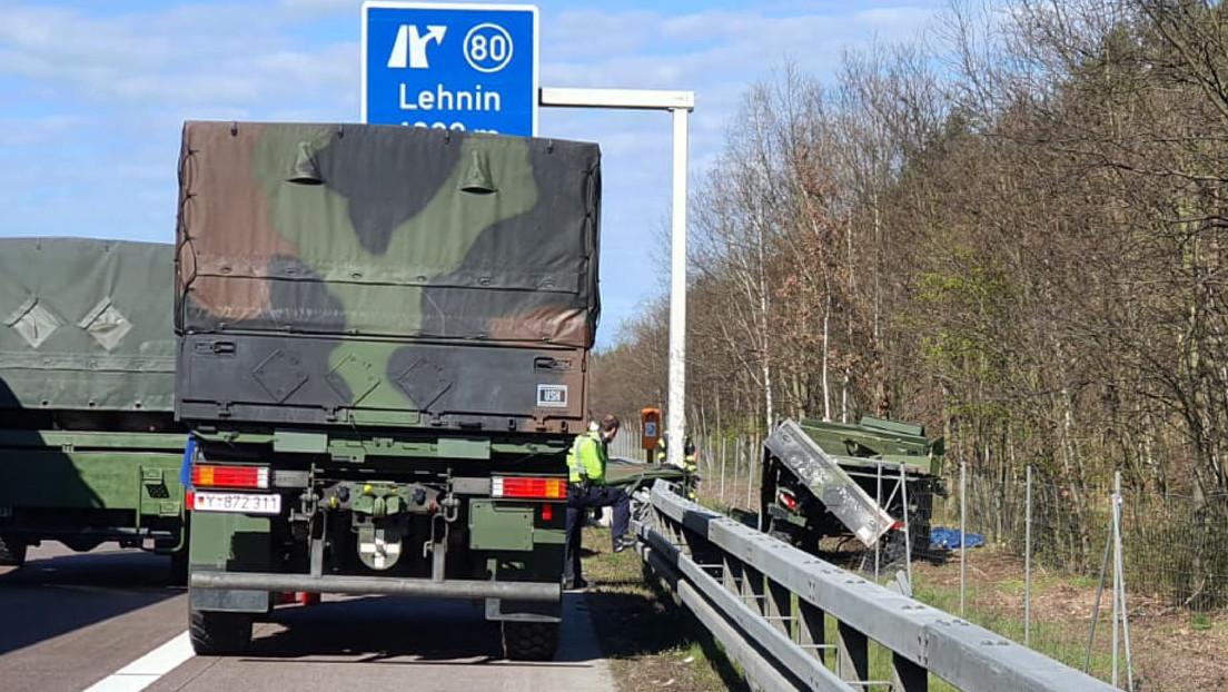 Zwei Bundeswehrsoldaten bei Unfall auf der A2 ums Leben gekommen