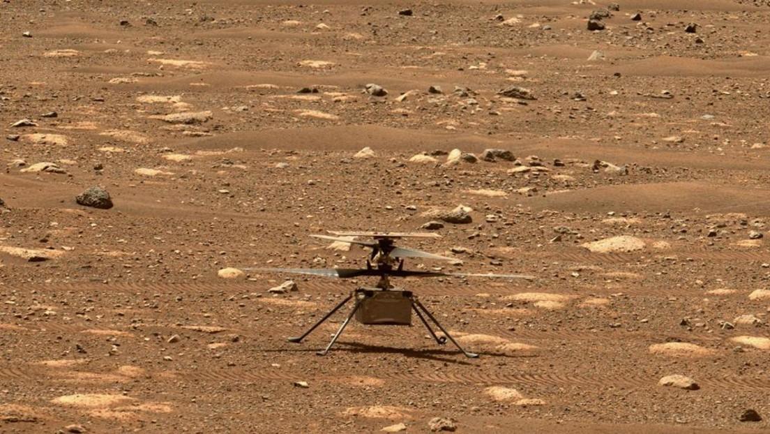 NASA-Hubschrauber fliegt im schnellen Fußgängertempo über den Mars