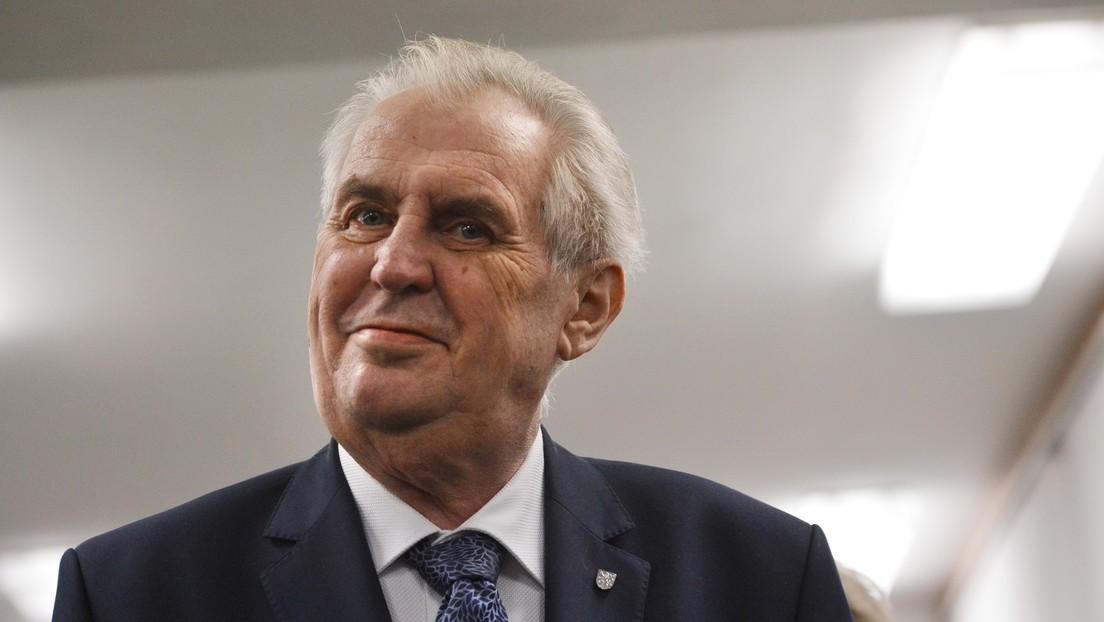 Tschechiens Präsident nach Ansprache zum Vorfall in Vrbětice des Hochverrats beschuldigt
