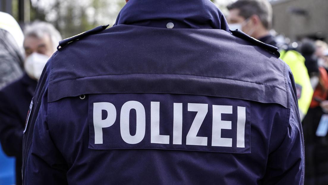 """""""Merkel-Faschisten"""": Empörung über Angriff auf Polizisten bei Corona-Demo in Thüringen"""