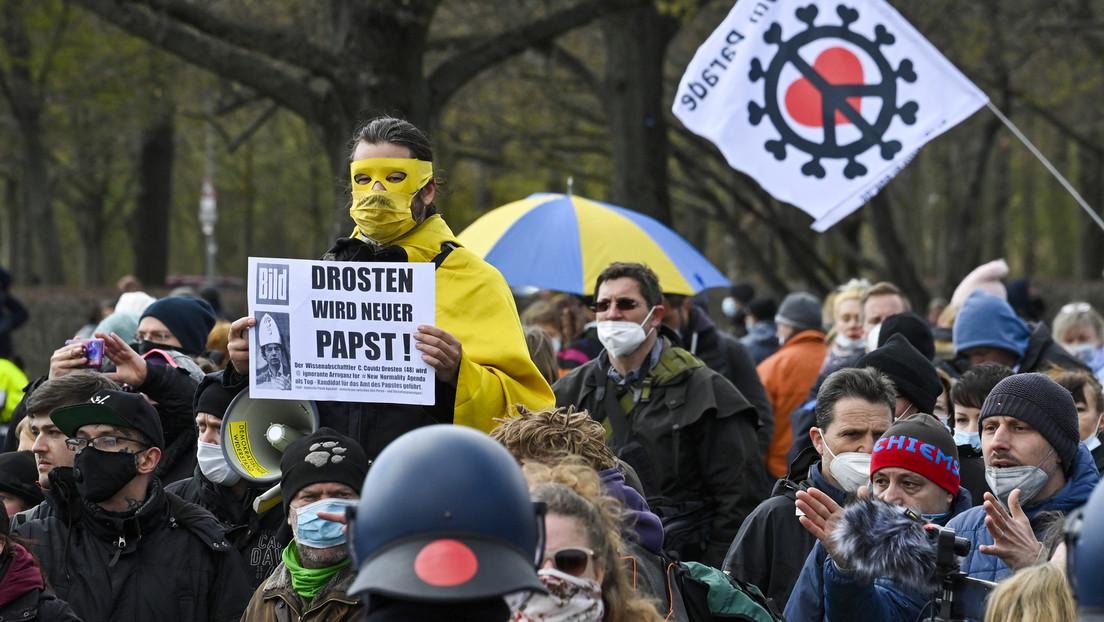 Bundesverfassungsschutz beobachtet Personen und Gruppen innerhalb der Querdenker-Bewegung