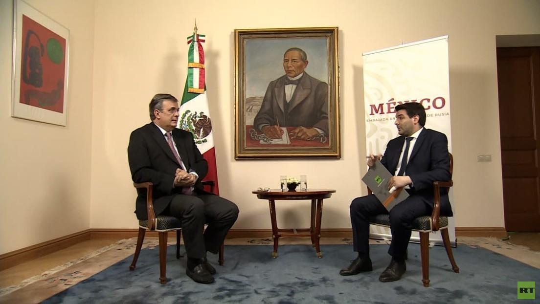 Mexikos Außenminister Ebrard exklusiv zu RT: Wollen Sputnik V vor Ort herstellen