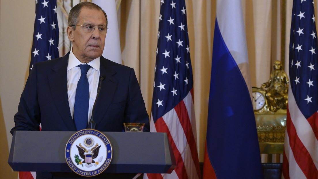 Lawrow: Biden lehnte Neubeginn der amerikanisch-russischen Beziehungen nach Amtsantritt ab