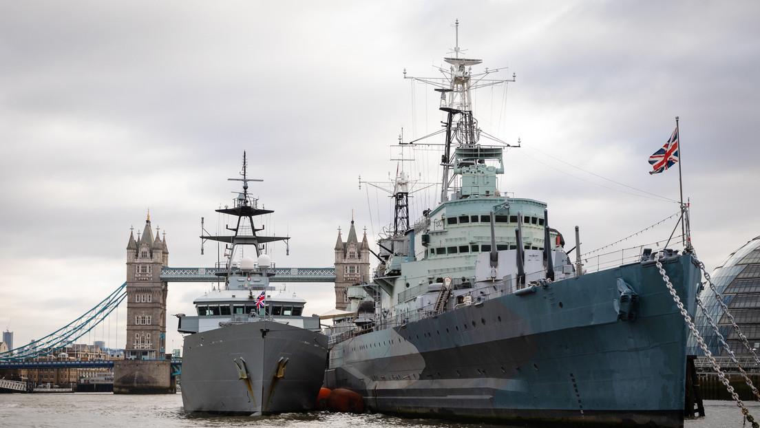 """Wie im alten Empire? Britischer Flottenverband geht auf """"Image-Tour"""" um die Welt"""