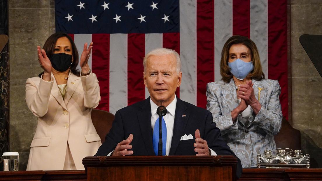 """Biden: """"Das Haus Amerika stand in Flammen"""" und ist nun """"bereit zum Abheben"""""""