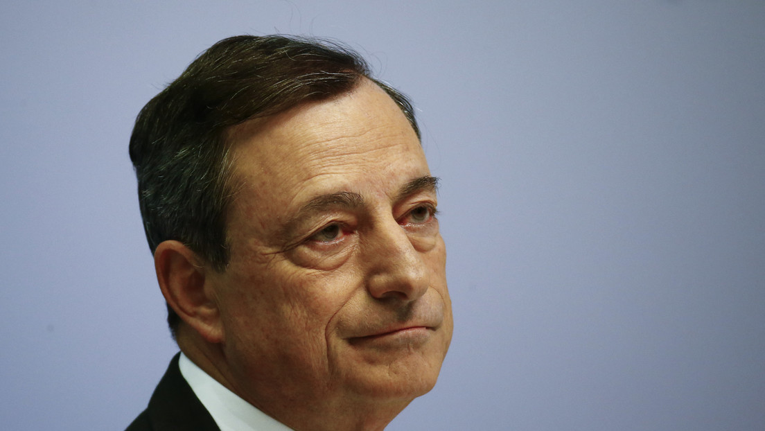EZB-Präsident Draghi gibt Pressekonferenz in Frankfurt - deutsche Übersetzung