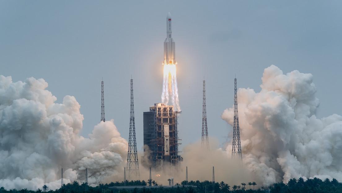 China startet Basismodul der chinesischen Raumstation