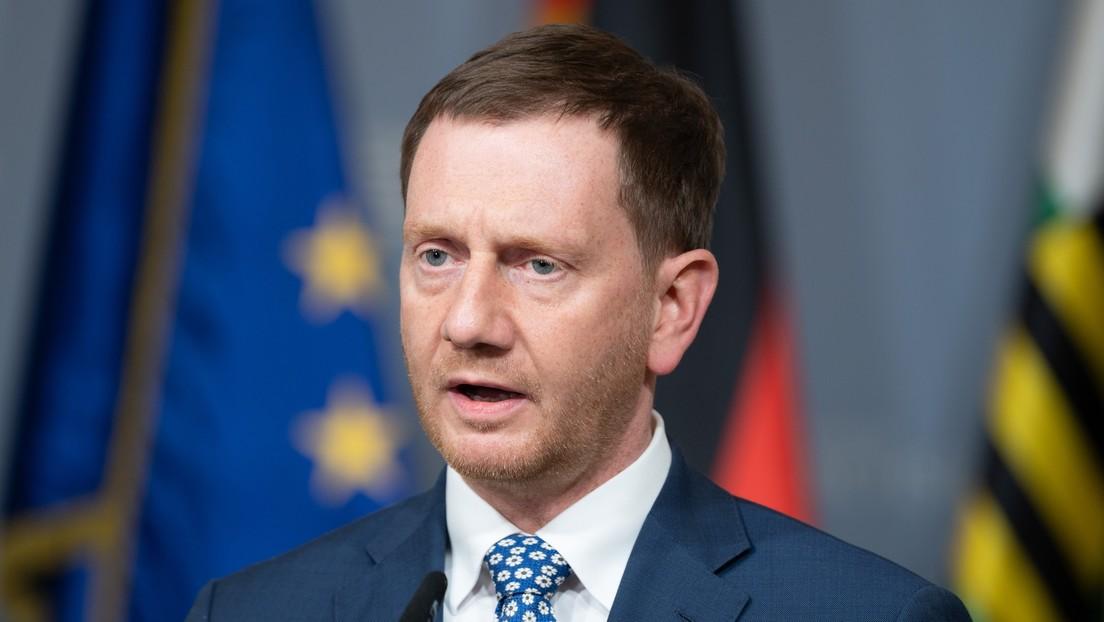 Deutsch-Russisches Rohstoff-Forum: Kretschmer wirbt für Fertigbau von Nord Stream 2