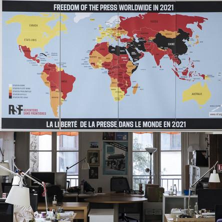 """""""Reporter ohne Grenzen"""" – eingebettete NGO mit Agenda"""