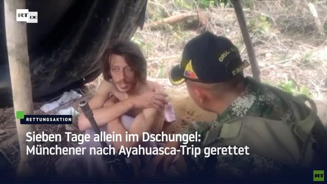 Sieben Tage allein im Dschungel: Münchner nach Ayahuasca-Trip gerettet