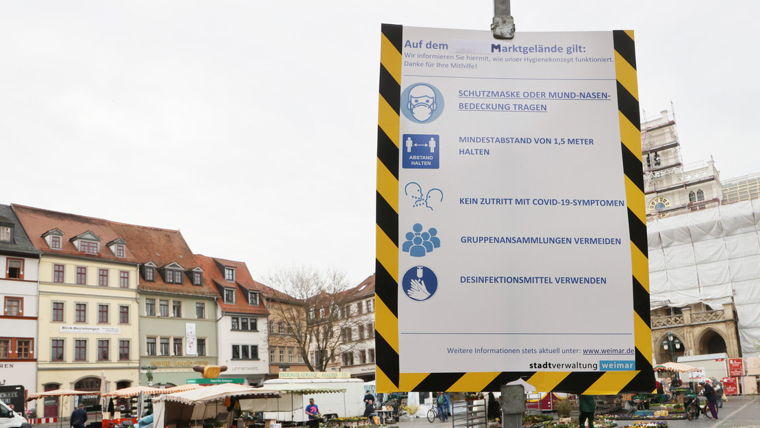 Querdenker-Kundgebung vor dem Amtsgericht Weimar verboten