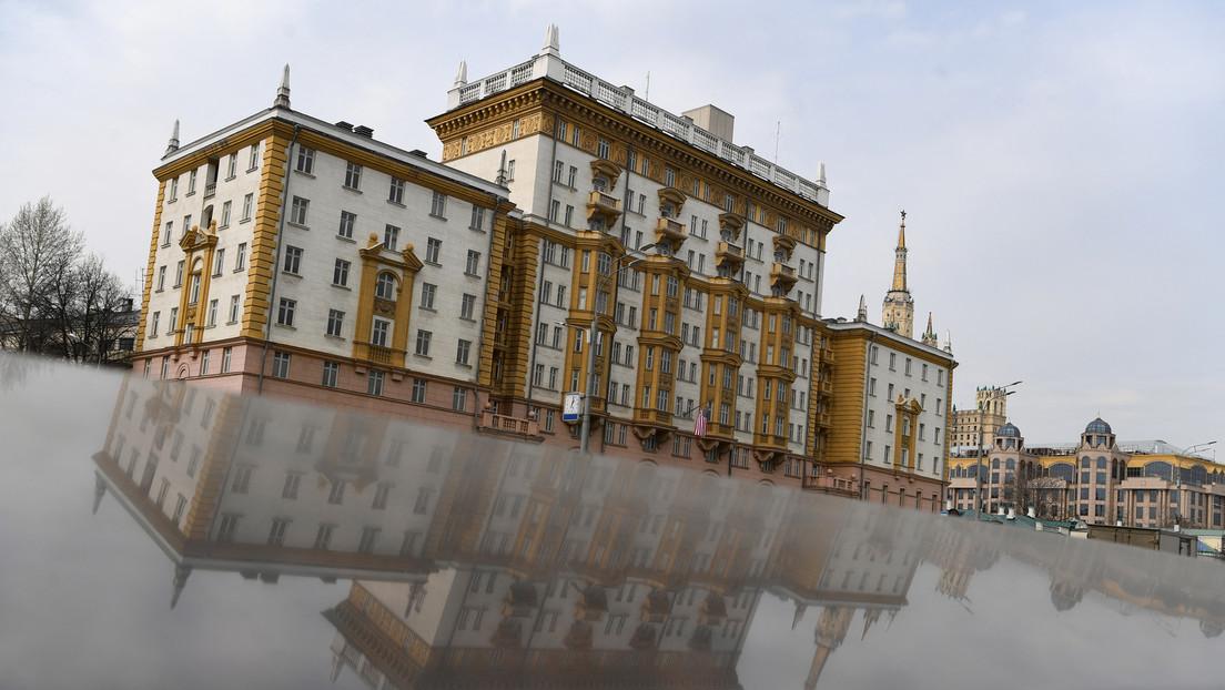 US-Botschaft rät Bürgern, Russland zu verlassen – und erntet Spott vom russischen Außenministerium