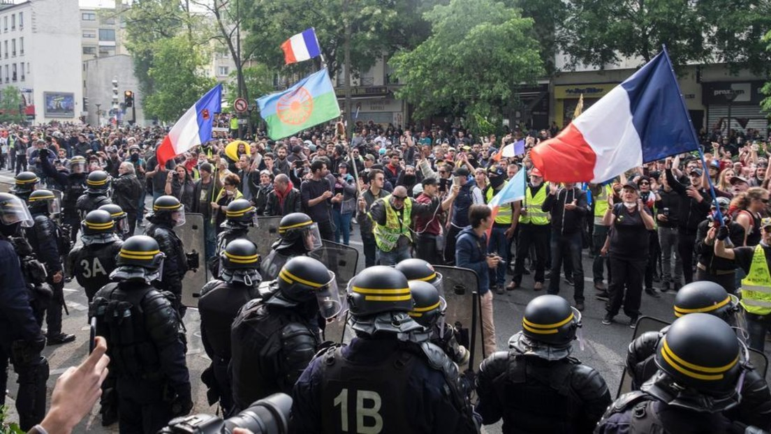 LIVE: Erste-Mai-Demonstration in Paris