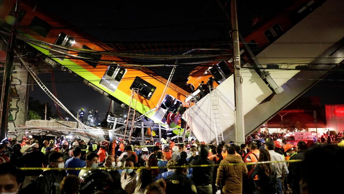 Unglück in Mexiko-Stadt: U-Bahnbrücke zum Teil eingestürzt – zahlreiche Tote und Verletzte