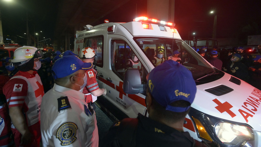 Mexiko-Stadt: U-Bahn stürzt mehrere Meter tief – mindestens 20 Tote (Video)