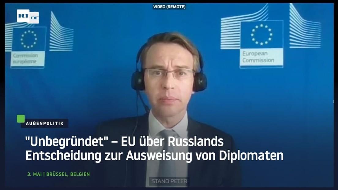 """""""Unbegründet"""" – EU über Russlands Entscheidung zur Ausweisung von Diplomaten"""