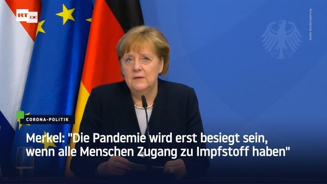 """Merkel zur Impfkampagne: """"Wir werden jeden Tag besser"""""""