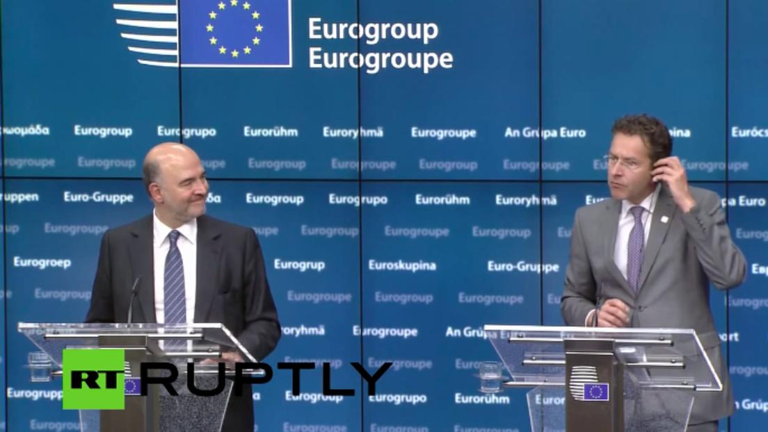 LIVE: Eurogruppe diskutiert Griechenland in Brüssel - Pressekonferenz