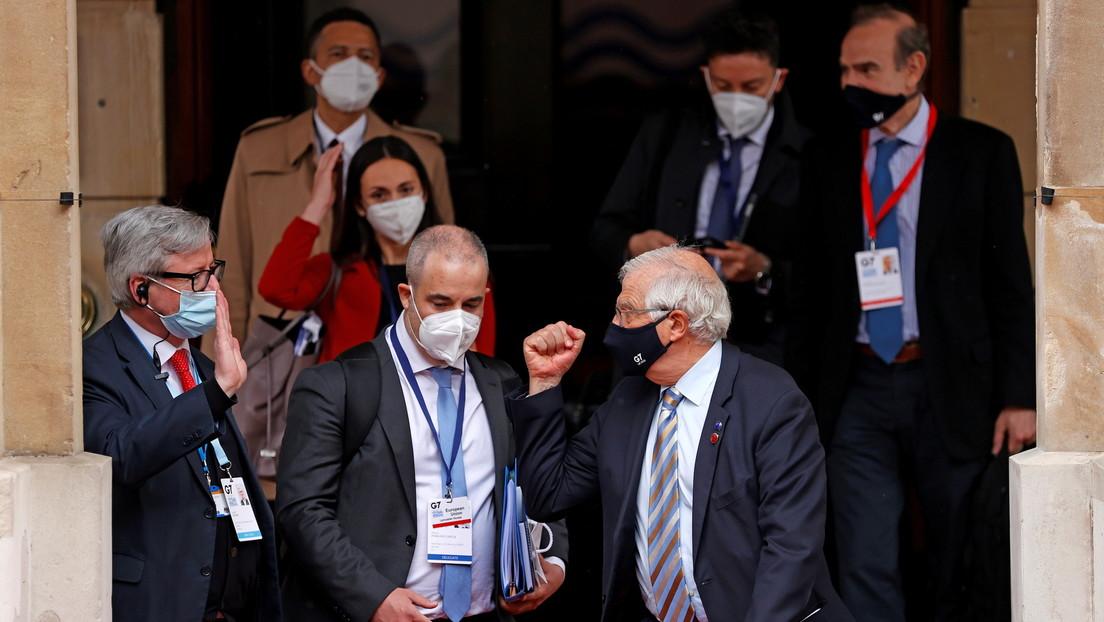 Wie im Vorfeld geplant: Außenminister der G7-Staaten attackieren Russland und China