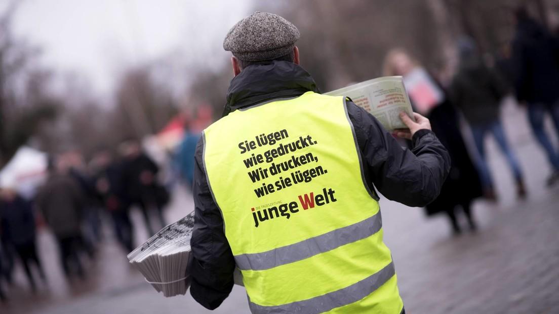 Pressefreiheit? Bundesregierung lässt Tageszeitung Junge Welt vom Verfassungsschutz beobachten