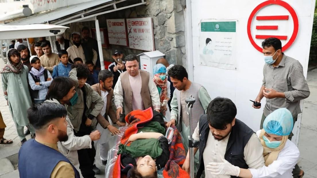 Mindestens 55 Tote nach Bombenexplosion in afghanischer Schule