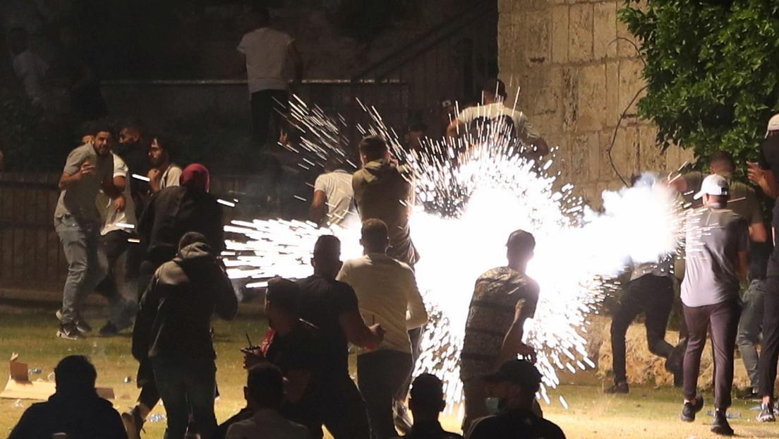 Erneut schwere Zusammenstöße am Tempelberg – mindestens 90 Palästinenser verletzt
