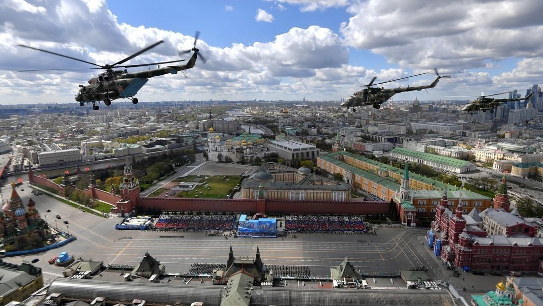Militärparade zum 76. Jahrestag des Sieges im Großen Vaterländischen Krieg in Moskau (Video)
