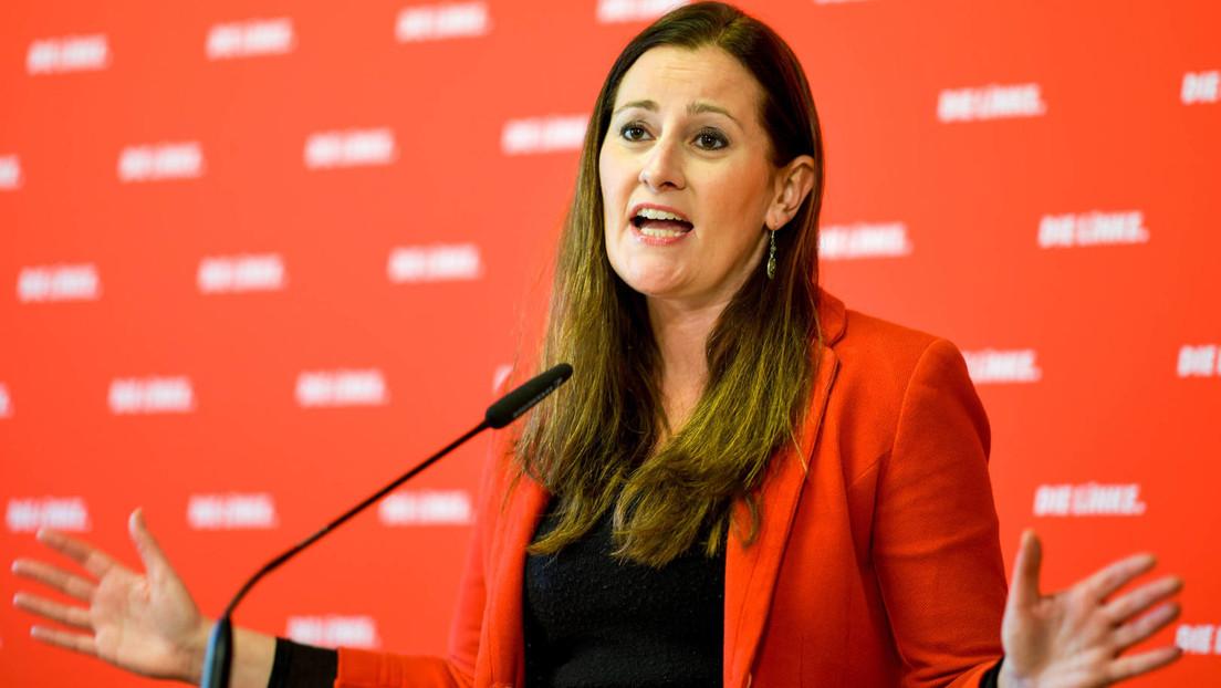 """Linken-Vorsitzende Wissler lehnt Bekenntnis zum """"Kriegsbündnis"""" NATO ab"""