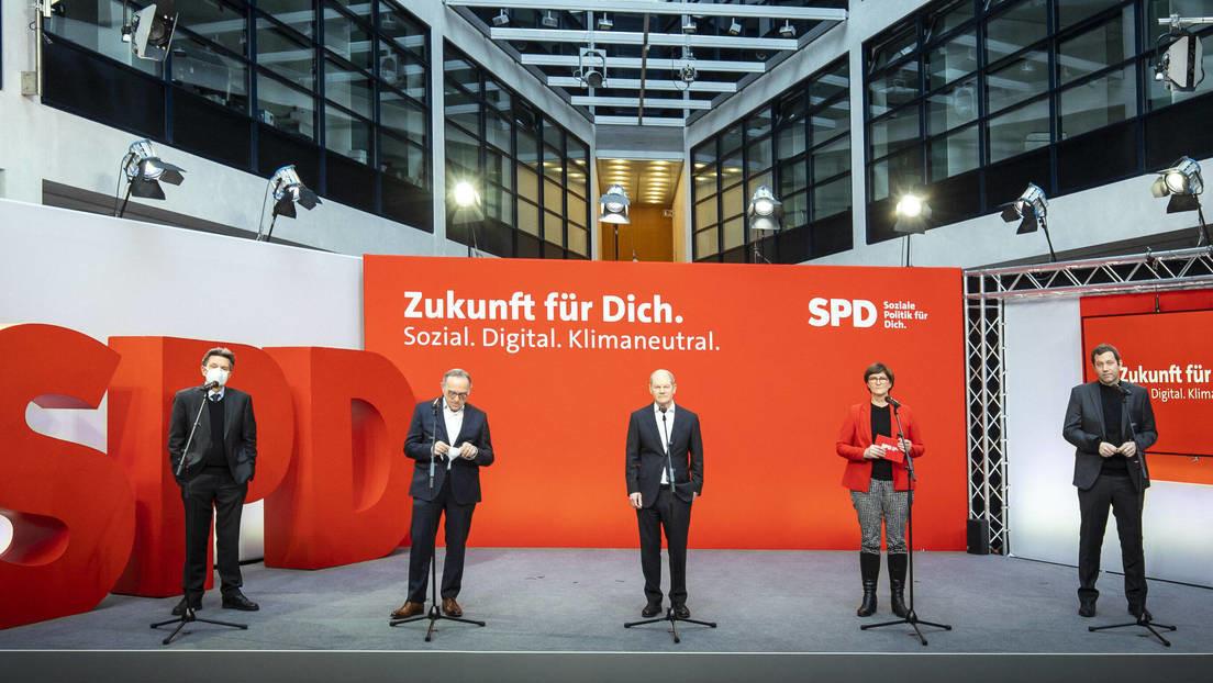 SPD-Parteitag: Scharfe Kritik an der Union und verkrampfter Optimismus