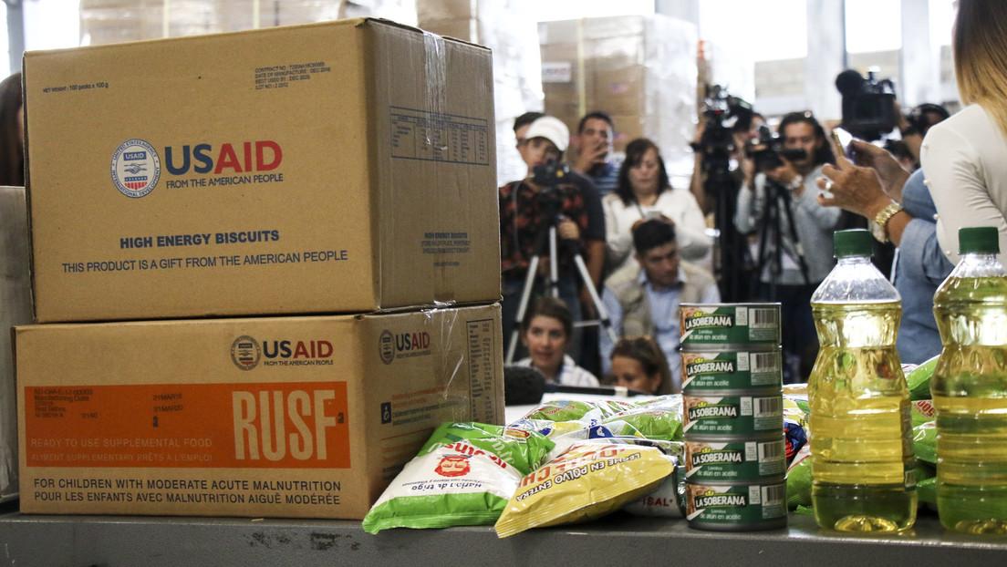 """Die """"humanitäre"""" Agentur USAID als Schlüsselinstrument im Kampf gegen Venezuela"""