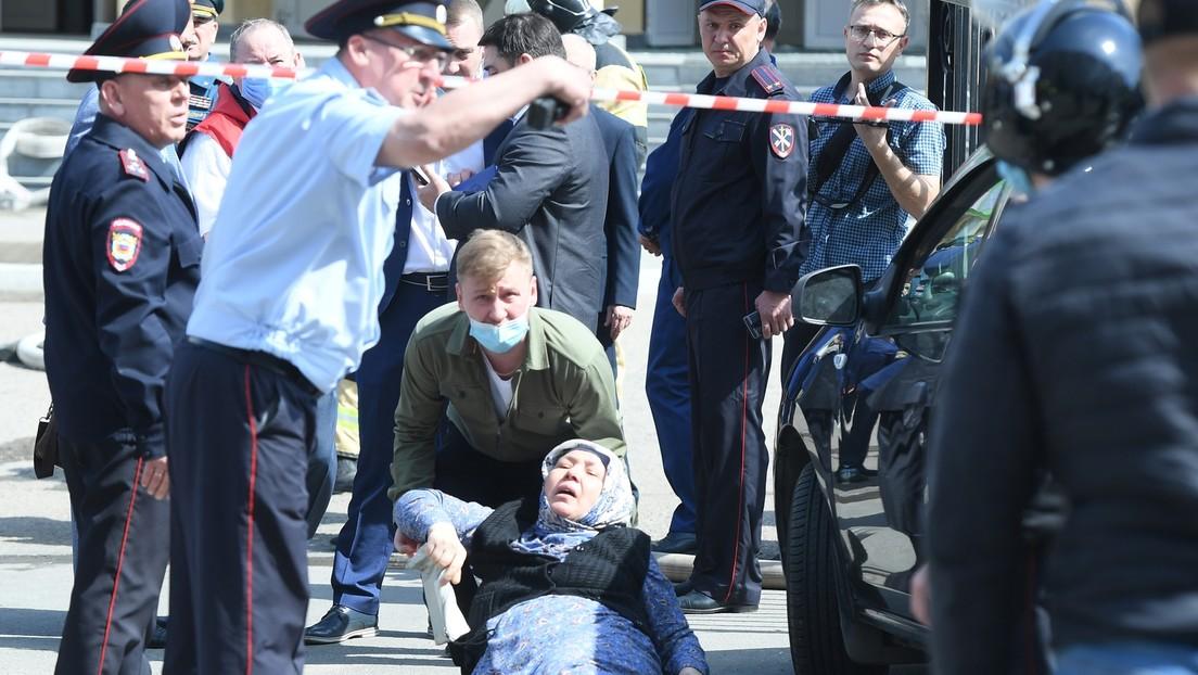 Neun Tote und Dutzende Verletzte nach Amoklauf an Schule in russischer Stadt Kasan