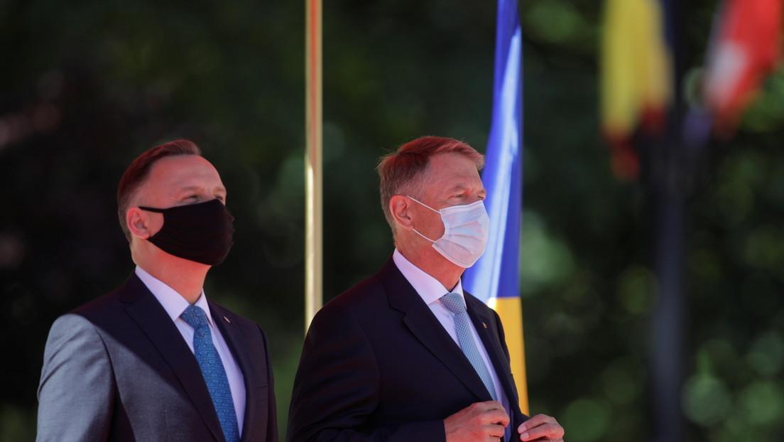 Rumänischer Präsident fordert von Biden mehr US-Truppen
