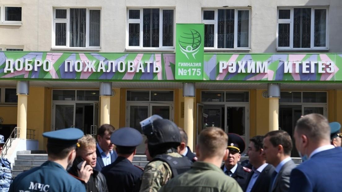LIVE: Amoklauf in Schule in Kasan – Russische Behörden bestätigen 11 Tote