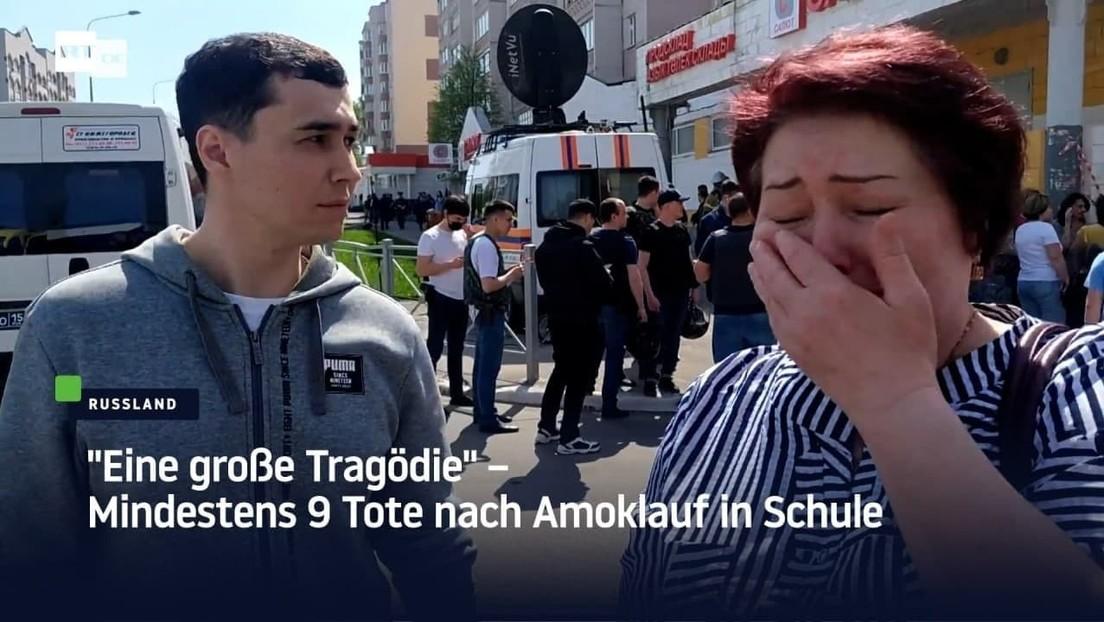 """""""Eine große Tragödie"""" – Mindestens neun Tote nach Amoklauf in Schule"""